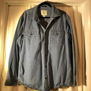 NWOT Men's Cotton Long Sleeve Shirt